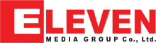 Logo of the Eleven Media Group Myanmar